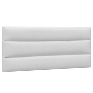 Cabeceira Painel Cama Box Casal 140cm Grécia Corano Branco - Mpozenato