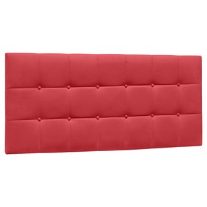 Cabeceira Painel Cama Box Casal 140cm Sleep Suede D05 Vermelho - Mpozenato