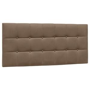 Cabeceira Painel Cama Box Casal 140cm Sleep Suede Marrom Chocolate - Mpozenato