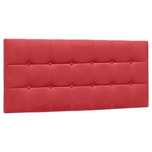 Cabeceira Painel Cama Box Casal 140cm Sleep Suede Vermelho - Mpozenato