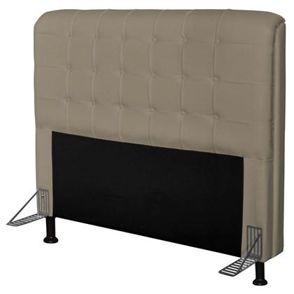 Cabeceira Para Cama Box Casal 140 cm Califórnia Corino Areia - JS Móveis