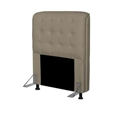 Cabeceira Para Cama Box Solteiro 90 cm Califórnia Corano Areia - JS Móveis