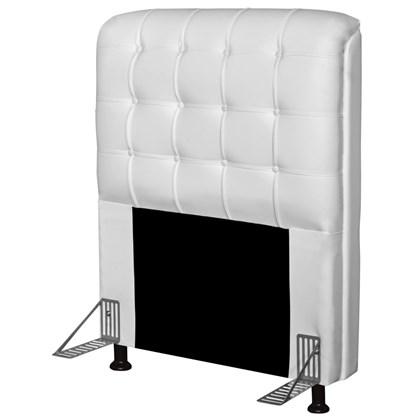 Cabeceira Para Cama Box Solteiro 90 cm Califórnia Corano Branco - JS Móveis