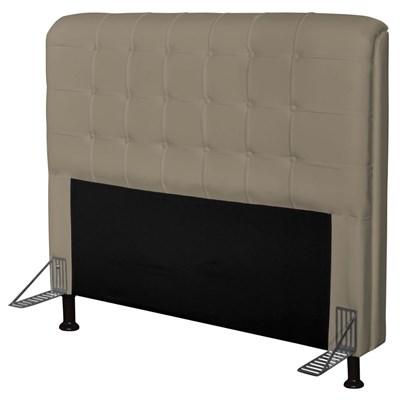 Cabeceira Para Cama Casal Box 160 cm Califórnia Corano Areia - JS Móveis