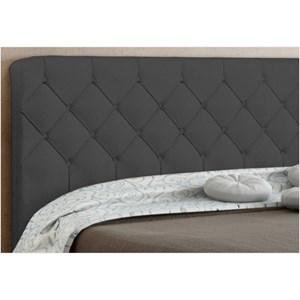 Cabeceira Paris para Cama Casal Box 160 cm Cinza Suede Amassado - JS Móveis