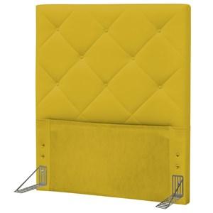 Cabeceira Solteiro 90 cm Oásis Corano Amarelo - D'Monegatto