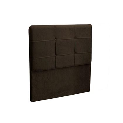 Cabeceira Solteiro Cama Box 90 cm London Chocolate - JS Móveis