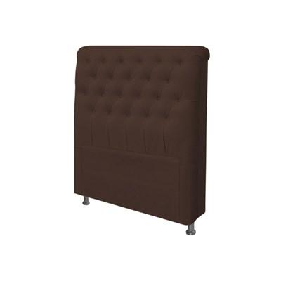 Cabeceira Solteiro Livia para Cama Box de 90 cm Corano Marrom - Js Móveis