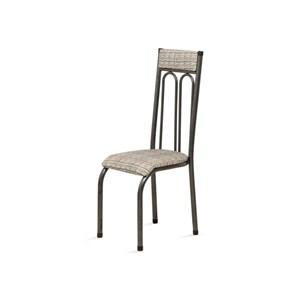 Cadeira Anatômica 0.120 Estofada Craqueado/Bege - Marcheli