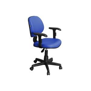 Cadeira de Escritório CE-01BPBT Executiva Giratória Azul - Pethiflex