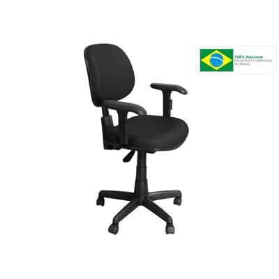 Cadeira de Escritório CE-Ergonômica Executiva Giratória Preta - Pethiflex