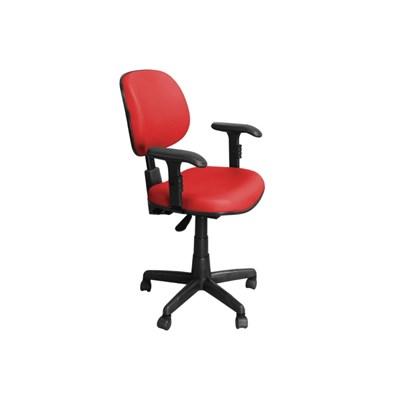 Cadeira de Escritório CE-Ergonômica Executiva Giratória Vermelha - Pethiflex