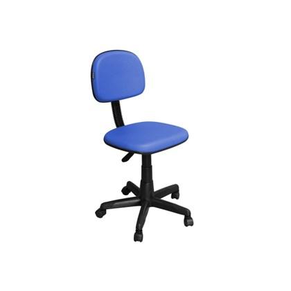 Cadeira de Escritório CS-02 Secretária Giratória Azul - Pethiflex