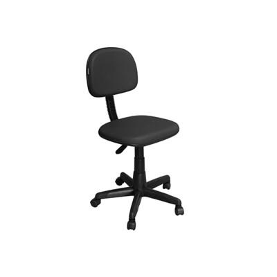 Cadeira de Escritório CS-02 Secretária Giratória Preta - Pethiflex