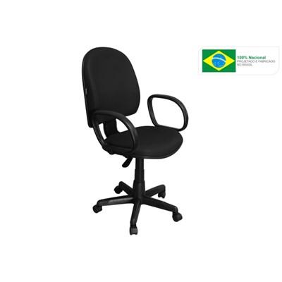 Cadeira de Escritório Excellence PE02 Executiva Giratória Preta - Pethiflex