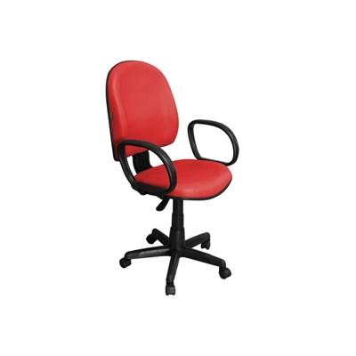 Cadeira de Escritório Excellence PE02 Executiva Giratória Vermelha - Pethiflex