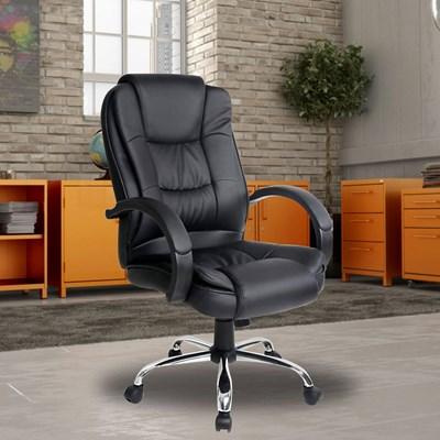 Cadeira de Escritório Giratória Confort F01 Preta - Mpozenato