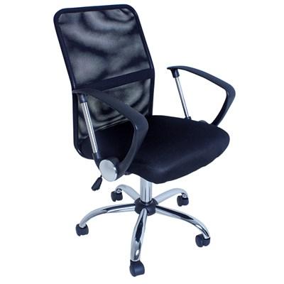 Cadeira de Escritório Giratória Premier F01 Preta - Mpozenato