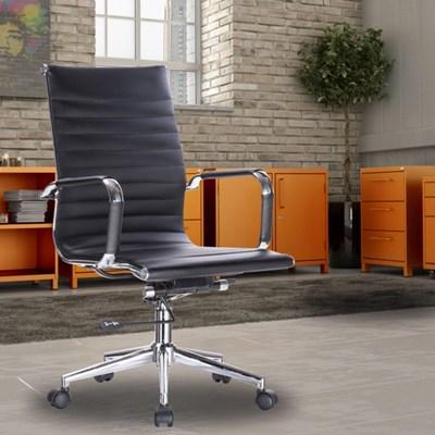 Cadeira de Escritório Giratória Resolute F01 Preta - Mpozenato