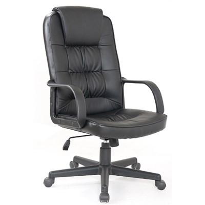 Cadeira de Escritório Giratória Royal F01 Preta - Mpozenato