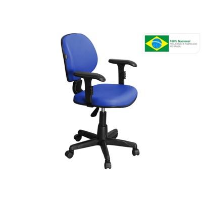 Cadeira de Escritório LE01 Executiva Giratória Azul - Pethiflex