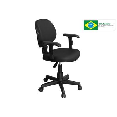Cadeira de Escritório LE01 Executiva Giratória Preta - Pethiflex