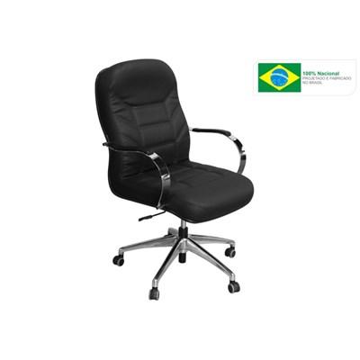 Cadeira de Escritório Magnífica PGC Diretor Giratória Preta - Pethiflex