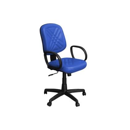 Cadeira de Escritório PD-01GPBP Diretor Giratória com Costura Azul - Pethiflex