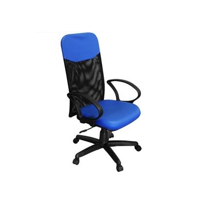 Cadeira de Escritório PP-04GTBP Presidente Giratória Azul - Pethiflex