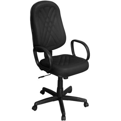 Cadeira de Escritório PP02-2 Presidente Giratória com Costura Preta - Pethiflex