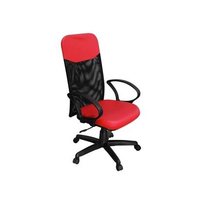 Cadeira de Escritório PP04 Presidente Giratória Vermelha - Pethiflex