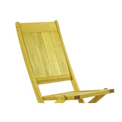 Cadeira Dobrável sem Braços Acqualung Stain Amarelo - Mão & Formão
