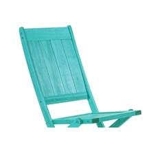 Cadeira Dobrável sem Braços Acqualung Stain Azul - Mão & Formão