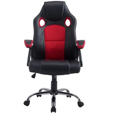Cadeira Gamer Giratória Extreme F01 Preta/Vermelha - Mpozenato