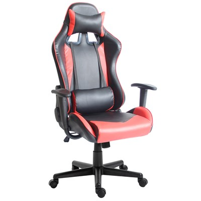 Cadeira Gamer Reclinável Pro F01 Preta/Vermelha - Mpozenato