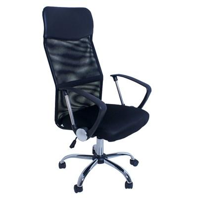 Cadeira Giratória Excellence Office F01 Preto - Mpozenato