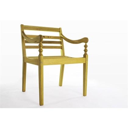Cadeira Varanda 100% em Madeira Amarelo - Mão & Formão