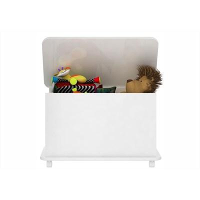 Caixa de Brinquedos Branco - Completa Móveis