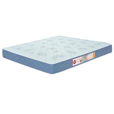 Colchão Casal King Max Espuma D45 193x203x18cm Branco/Azul - Castor