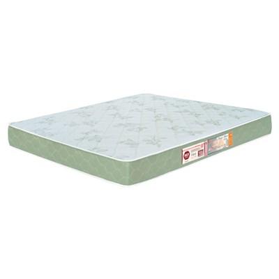 Colchão Casal Queen Sleep Max Espuma D33 158x198x18cm Branco/Verde - Castor