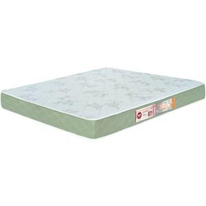 Colchão Casal Queen Sleep Max Espuma D33 158x198x25cm Branco/Verde - Castor