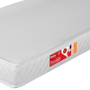 Colchão para Berço Liso Branco 130 x 60 x 10 cm D18 - Prorelax