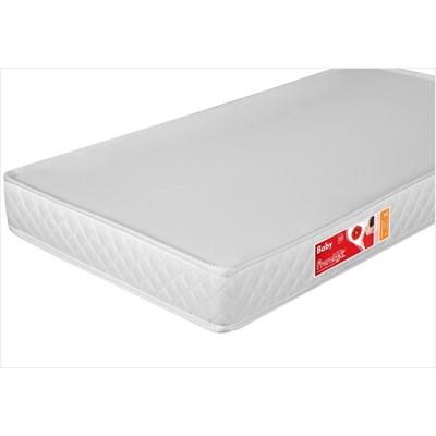Colchão para Berço Liso Branco 130 x 70 x 10 cm D18 - Prorelax