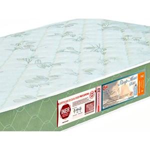 Colchão Solteiro Sleep Max Espuma D33 100x200x15cm Branco/Verde - Castor