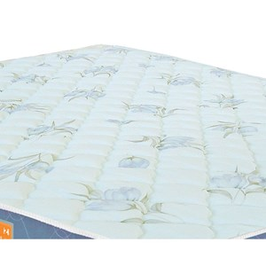 Colchão Solteiro Sleep Max Espuma D45 120x203x25cm Branco/Azul - Castor