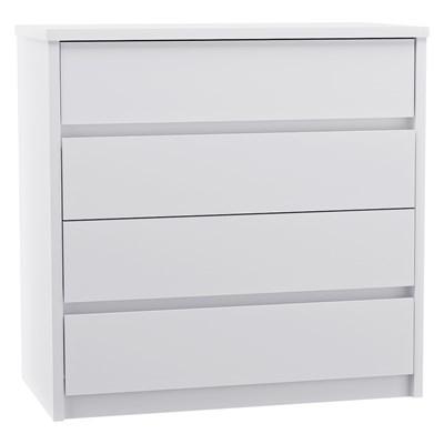 Cômoda 4 Gavetas Blank F04 Branco - Mpozenato