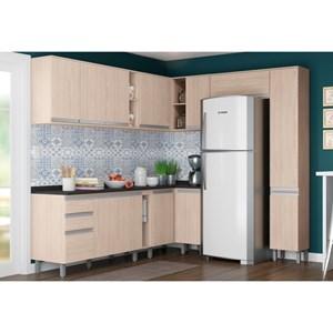 Cozinha Modulada 14 Peças CP05 Connect Creme - Henn