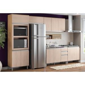 Cozinha Modulada 7 Peças CP02 Integra Rústico/Creme - Henn