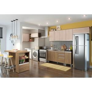 Cozinha Modulada 9 Peças CP01 Integra Rústico/Creme - Henn