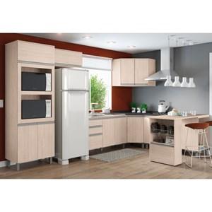 Cozinha Modulada 9 Peças CP02 Connect Creme - Henn